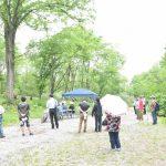 旧清水沢小学校校庭木お別れ会を開催しました